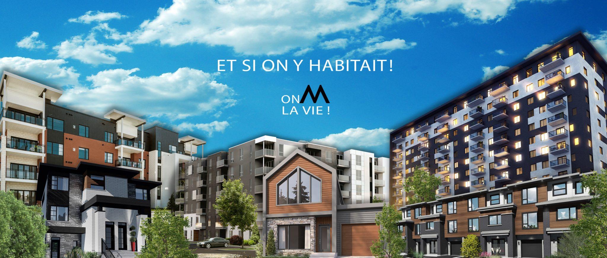 Maison Mirabel - Slogan - Constructions neuves a Mirabel